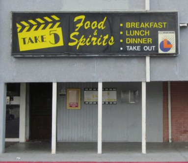 Take 5 serving fine Food and Spirits since 1984